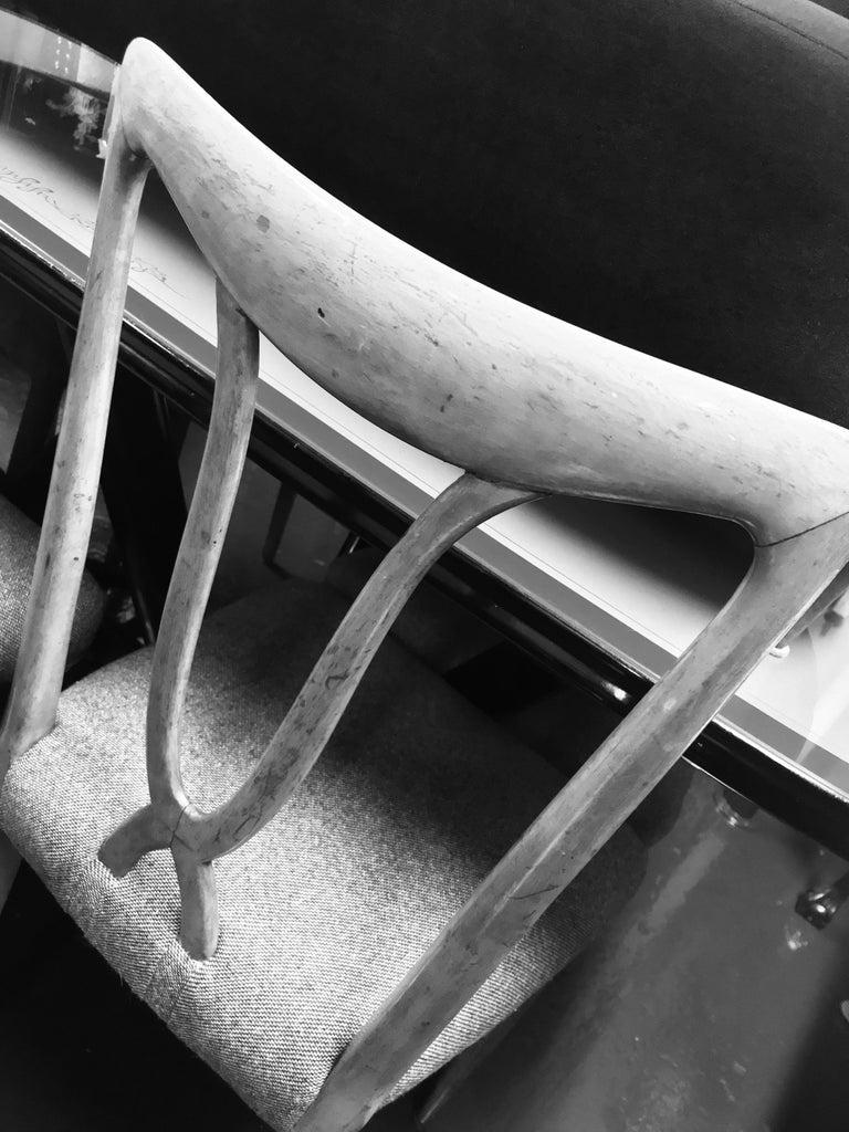 Set of Six Stylish Italian Dining Chairs 1