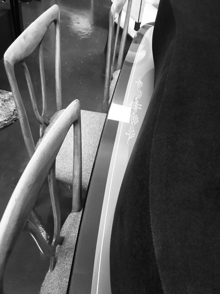 Set of Six Stylish Italian Dining Chairs 2