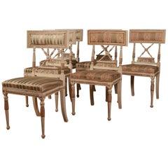Set of Six Swedish Chairs