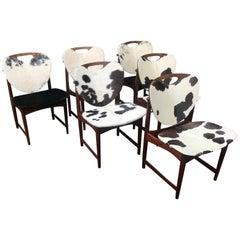 Set of Six Teak Chairs, Arne Hovmand-Olsen