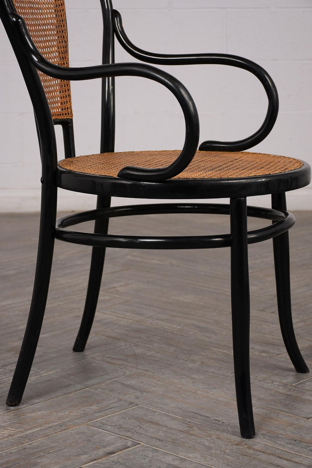 Strange Set Of Six Thonet Bentwood Fauteuil No 11 Dining Chairs Gmtry Best Dining Table And Chair Ideas Images Gmtryco