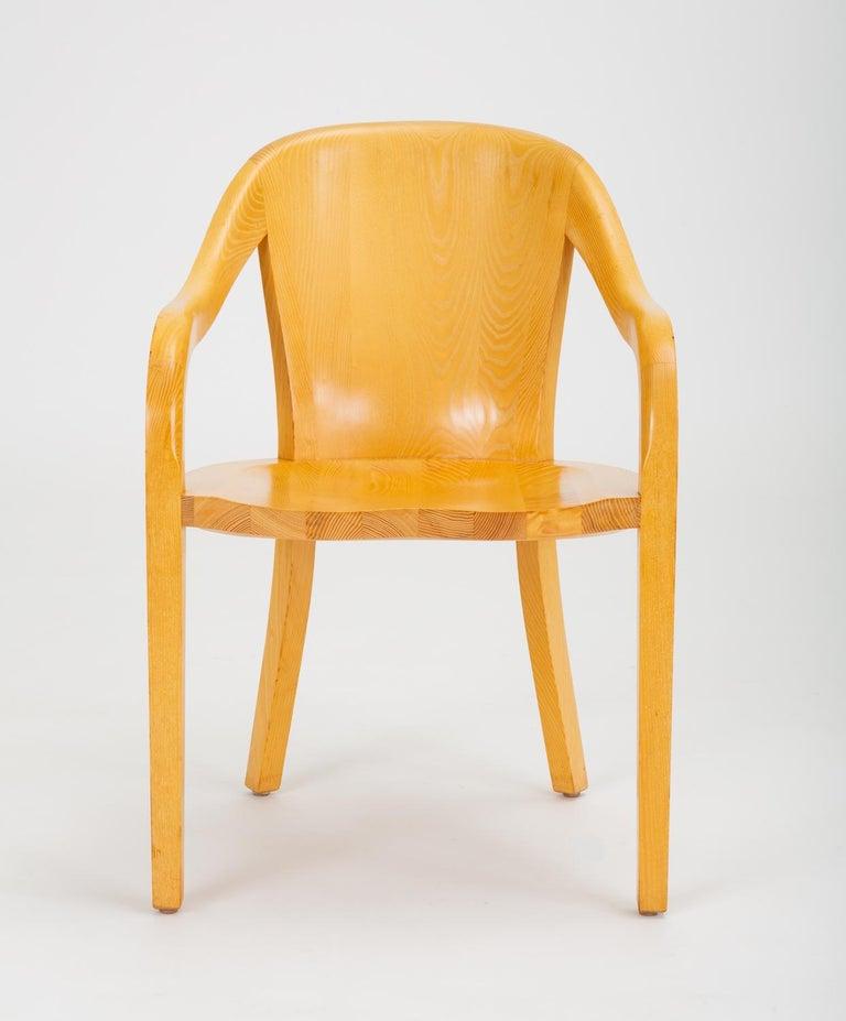 Set of Six University Chairs by Ward Bennett for Brickel Associates