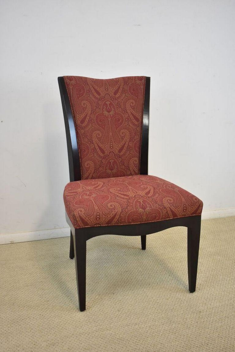 Set of Six Upholstered Dining Room Chairs by Barbara Barry for Baker Furniture In Good Condition For Sale In Toledo, OH