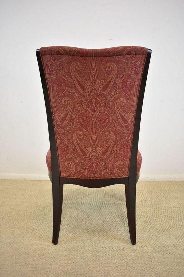 20th Century Set of Six Upholstered Dining Room Chairs by Barbara Barry for Baker Furniture For Sale