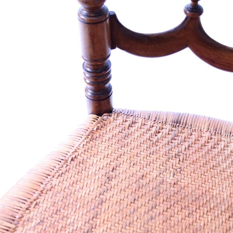 Cane Set of Six Vintage Chiavari