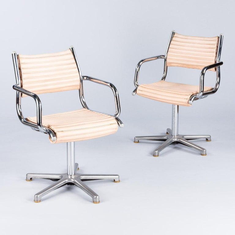 Set of Six Vintage Chrome Armchairs by Olymp, Germany 1970s For Sale 6