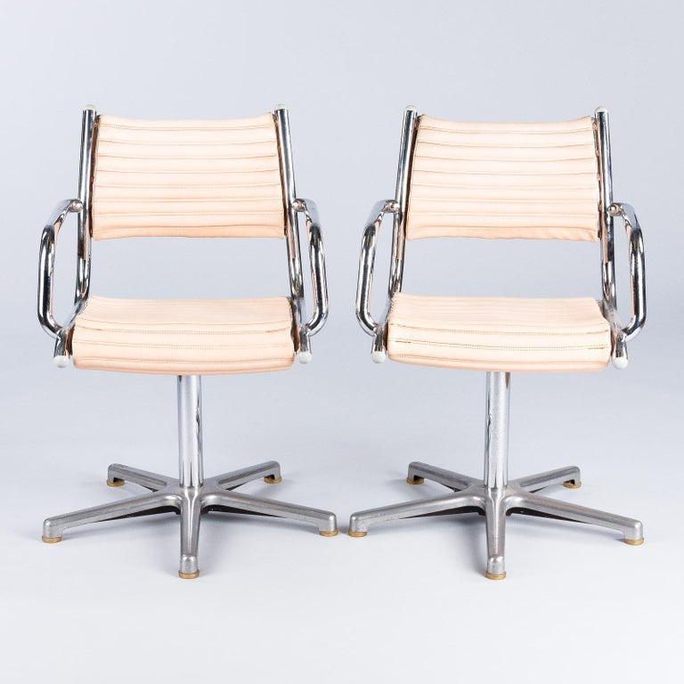 Set of Six Vintage Chrome Armchairs by Olymp, Germany 1970s For Sale 7