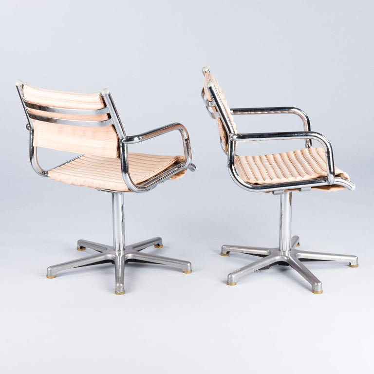 Set of Six Vintage Chrome Armchairs by Olymp, Germany 1970s For Sale 8