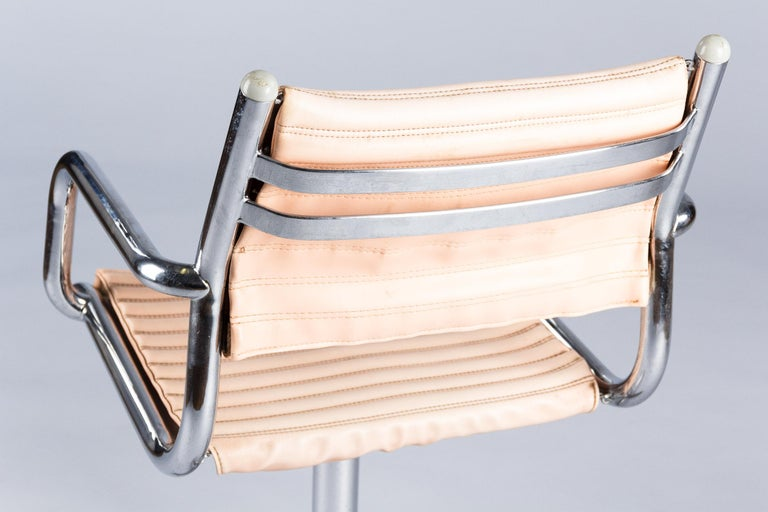 Set of Six Vintage Chrome Armchairs by Olymp, Germany 1970s For Sale 11