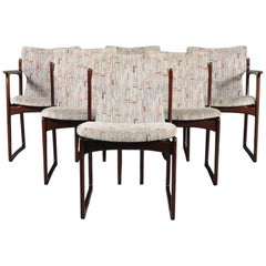 Set of Six Vintage Danish Teak Dining Chairs Model VS231 by Vamdrup Stolefabrik