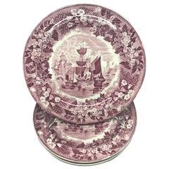 Set of Six Wedgwood Ferrara Plates