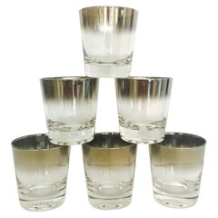 Set of Six Whiskey Barware Glasses by Dorothy Thorpe, 1960s