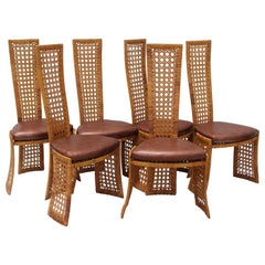 Set of Six Wicked Chairs by Danny Ho Fong