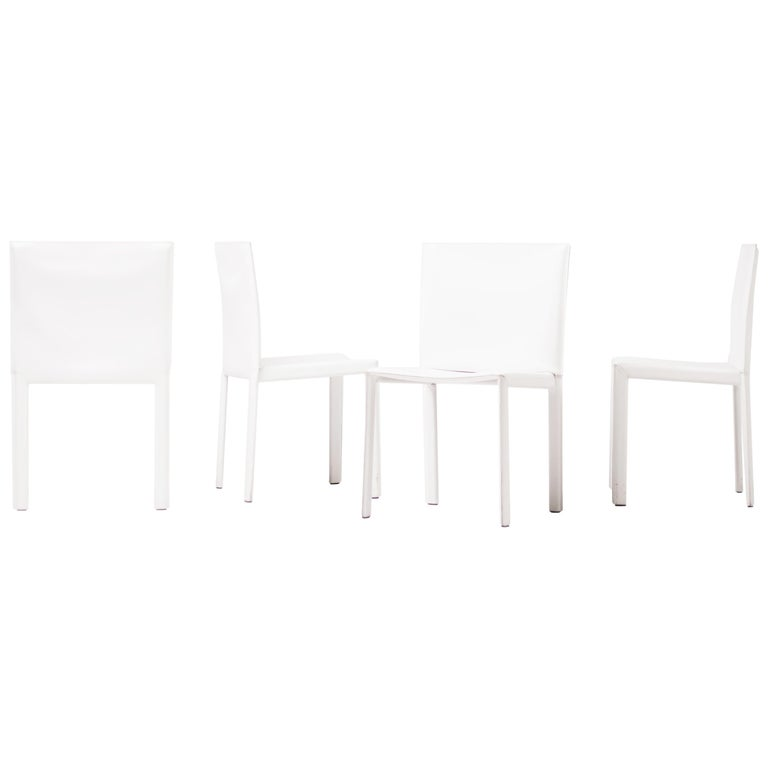 Set of Sixteen Dining Chairs by Grazzi and Bianchi for Enrico Pellizzoni For Sale