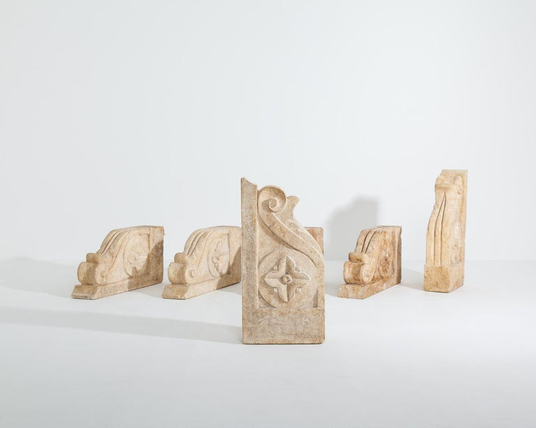Set of Large 18th-19th Century Stone Corbels, Architectural Antiques For Sale 3