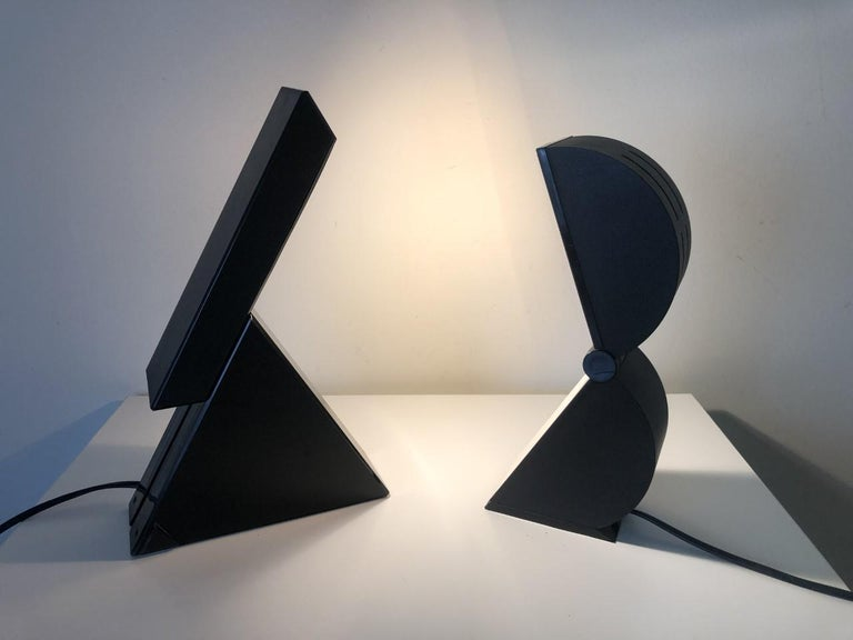 Post-Modern Set of Table Lamps