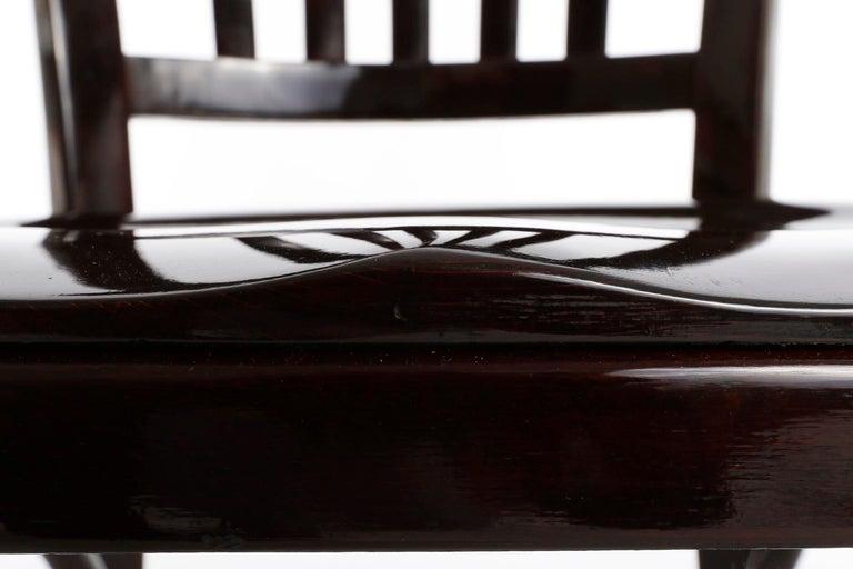 Set of Ten Adolf Loos Chairs Cafe Capua Vienna, Austria, Thonet, 1913 For Sale 3