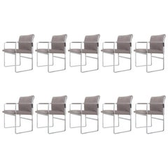 Set of Ten Armchairs, JH 811 by Hans J. Wegner