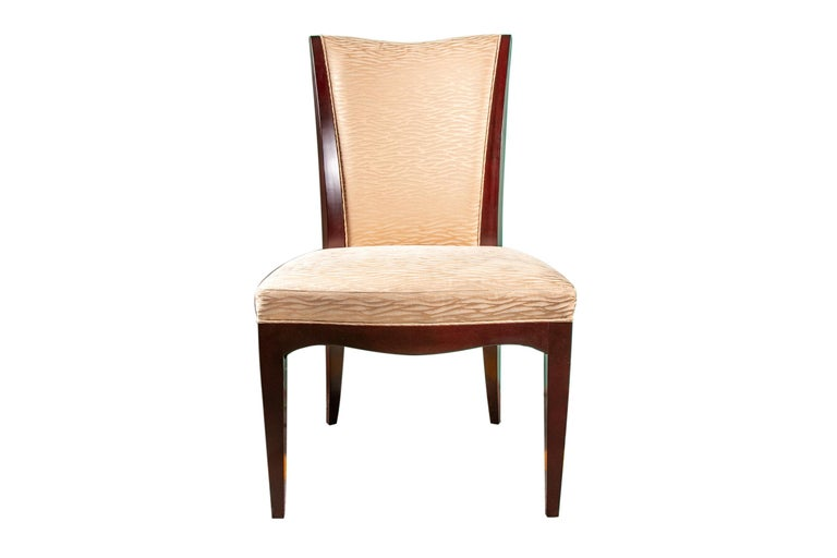 Outstanding Set Of Ten Barbara Barry Collection For Baker Dining Chairs Evergreenethics Interior Chair Design Evergreenethicsorg