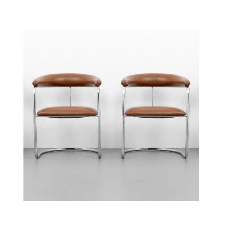 American Set of Ten Dining Chairs by Anton Lorenz for Thonet For Sale