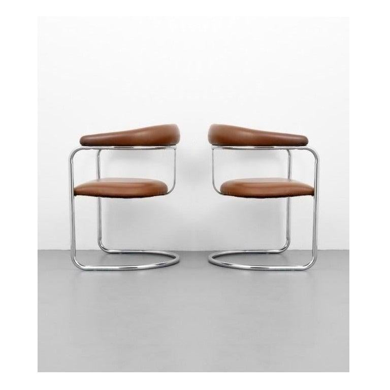 Set of Ten Dining Chairs by Anton Lorenz for Thonet In Good Condition For Sale In Dallas, TX