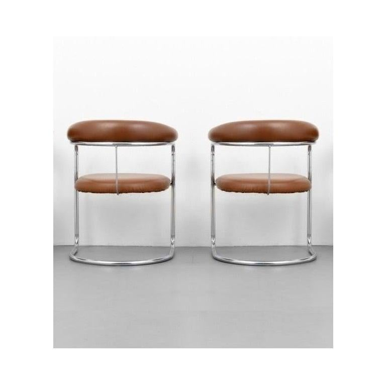 Late 20th Century Set of Ten Dining Chairs by Anton Lorenz for Thonet For Sale