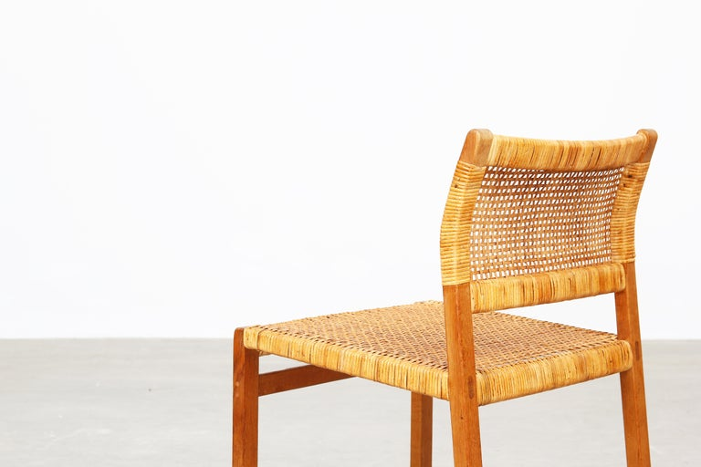 Set of Ten Dining Chairs by Børge Mogensen for Fredericia in Oak, Denmark For Sale 5