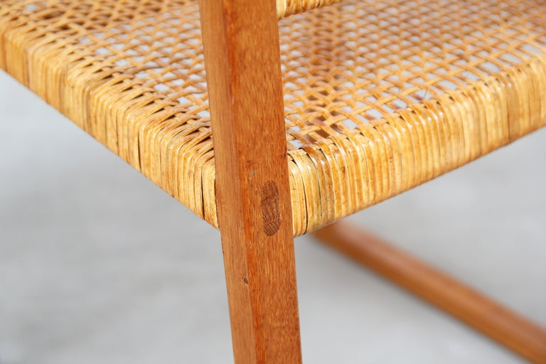 Set of Ten Dining Chairs by Børge Mogensen for Fredericia in Oak, Denmark For Sale 6