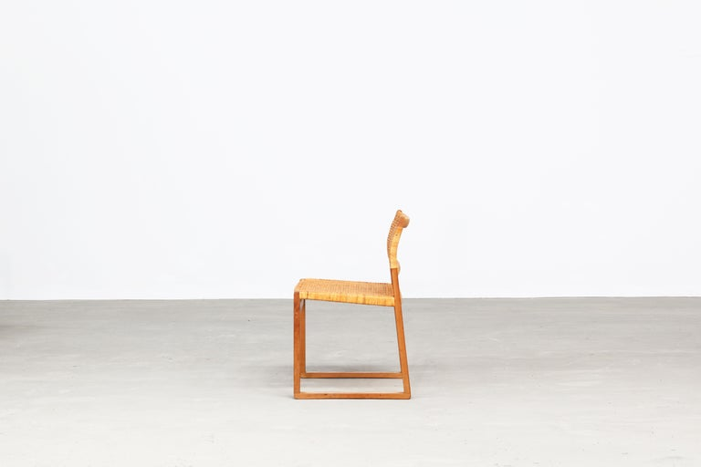 Set of Ten Dining Chairs by Børge Mogensen for Fredericia in Oak, Denmark For Sale 1