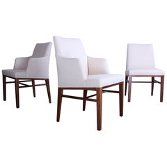 Set of Ten Dining Chairs by Edward Wormley for Dunbar