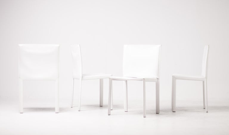 Set of Twelve Dining Chairs by Grazzi and Bianchi for Enrico Pellizzoni For Sale 2