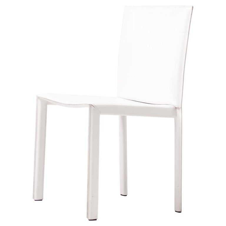Set of Twelve Dining Chairs by Grazzi and Bianchi for Enrico Pellizzoni For Sale