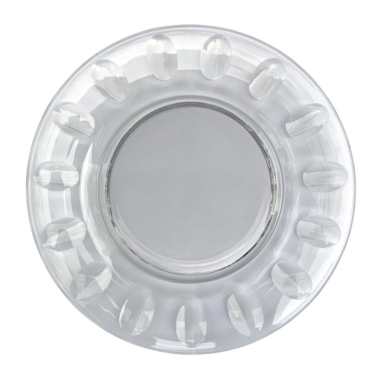 Set of Ten Dutch Cut Crystal Plates In Good Condition For Sale In Chicago, IL
