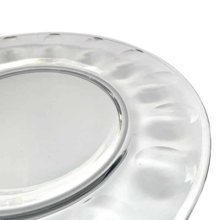 Set of Ten Dutch Cut Crystal Plates For Sale 2