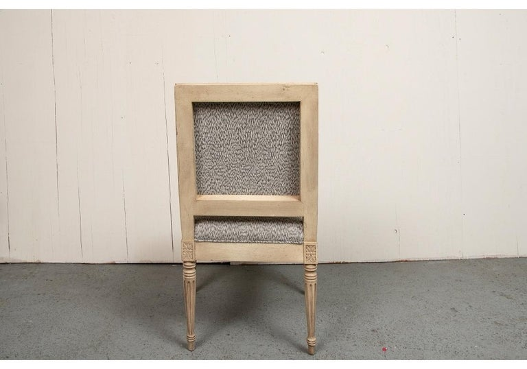Set of Ten Gustavian Style Dining Chairs by Hickory Chair For Sale 1