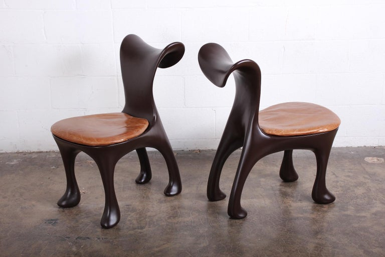 20th Century Set of Ten Hoodie Dining Chairs by Jordan Mozer For Sale