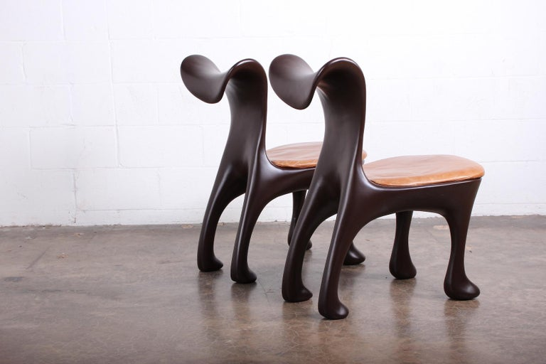 Set of Ten Hoodie Dining Chairs by Jordan Mozer For Sale 2