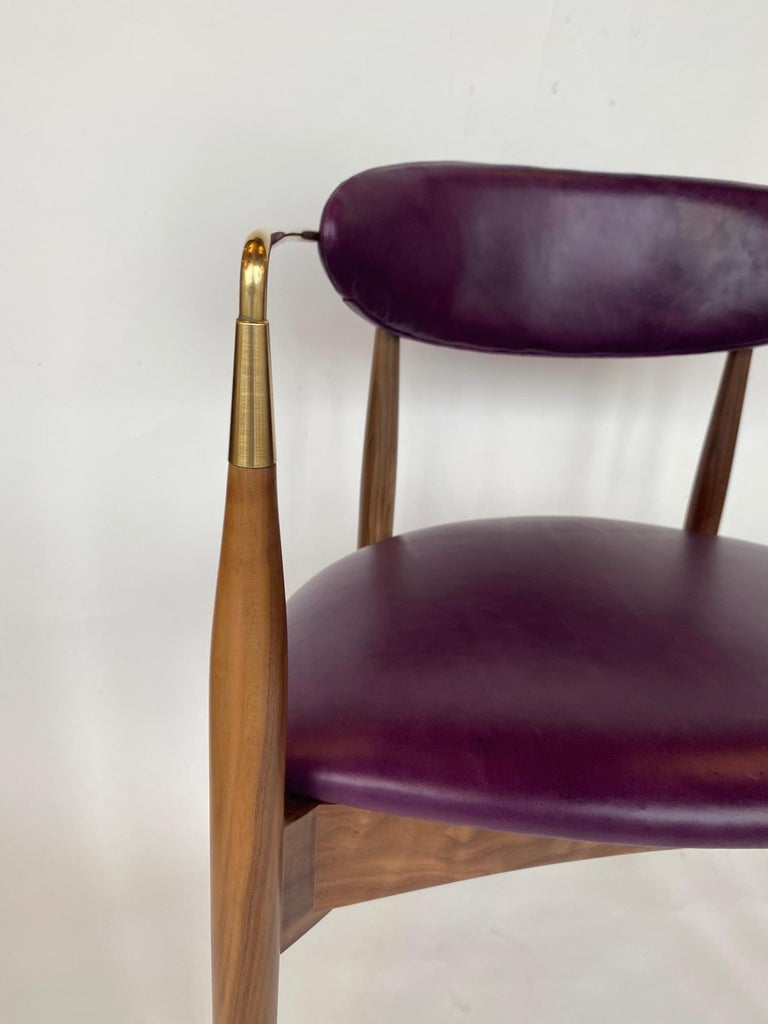 Set of Ten Italian Chairs, circa 1980s For Sale 7
