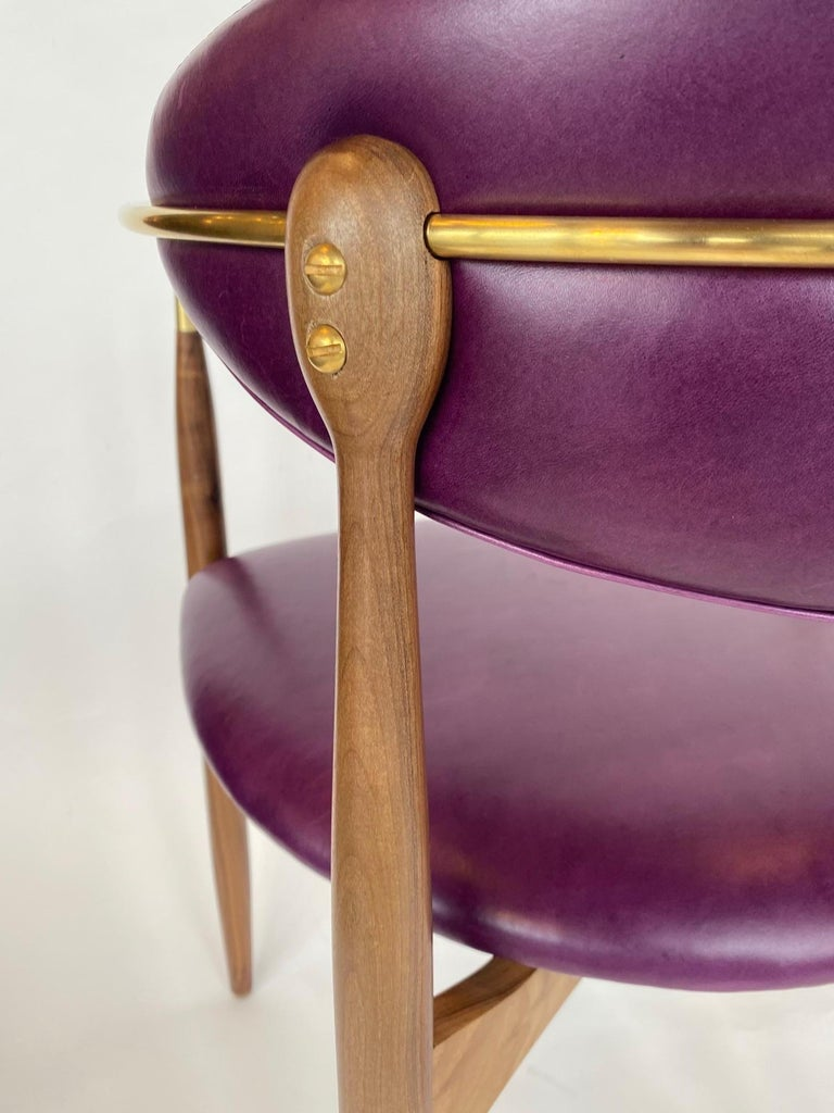 Set of Ten Italian Chairs, circa 1980s For Sale 5