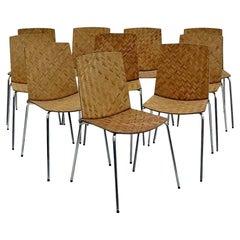Set of Ten Italian Chairs
