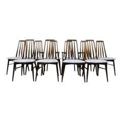 Set of Ten Midcentury Danish Dining Chairs by Koefoeds Hornslet, 1960s
