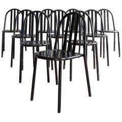 Set of Ten Model 222 Chairs by Robert Mallet-Stevens