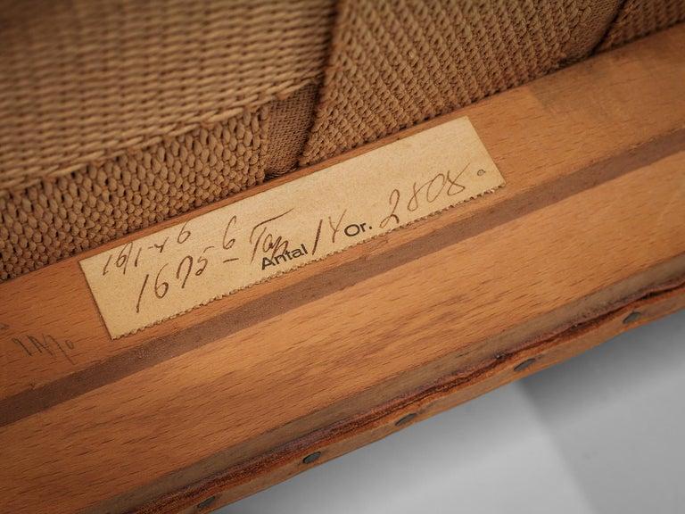 Set of Ten Ole Wanscher Dining Chairs for Fritz Hansen 5