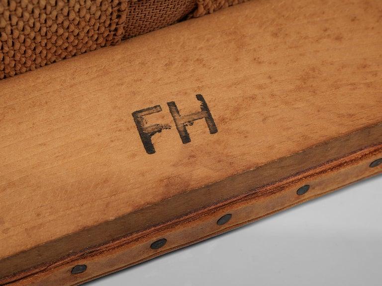 Set of Ten Ole Wanscher Dining Chairs for Fritz Hansen 6