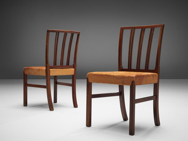 Mid-Century Modern Set of Ten Ole Wanscher Dining Chairs for Fritz Hansen