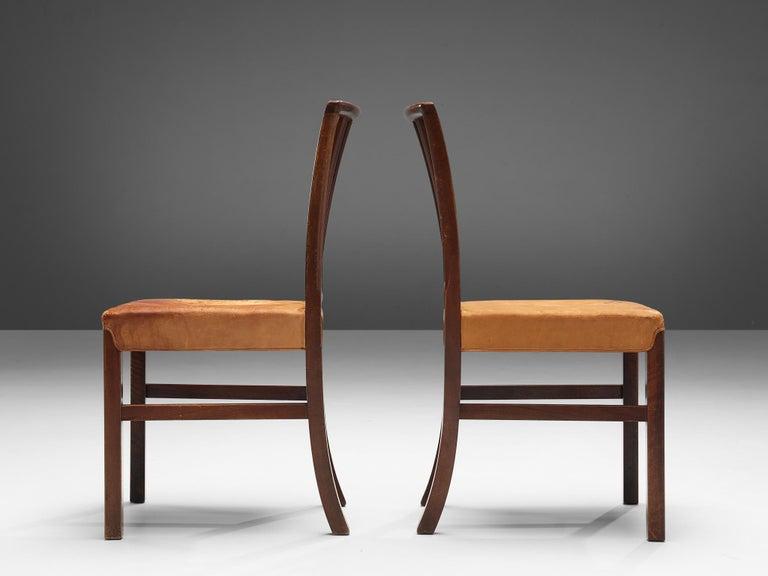 Mid-20th Century Set of Ten Ole Wanscher Dining Chairs for Fritz Hansen