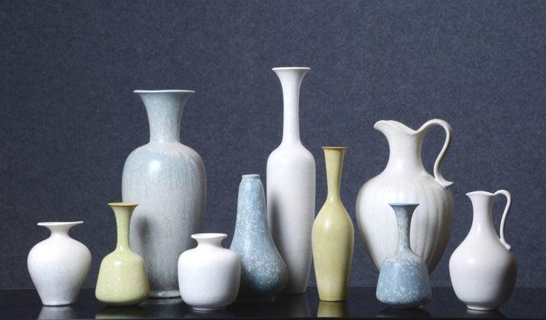 Swedish Set of Ten Vases by Gunnar Nylund for Rörstrand, Sweden For Sale