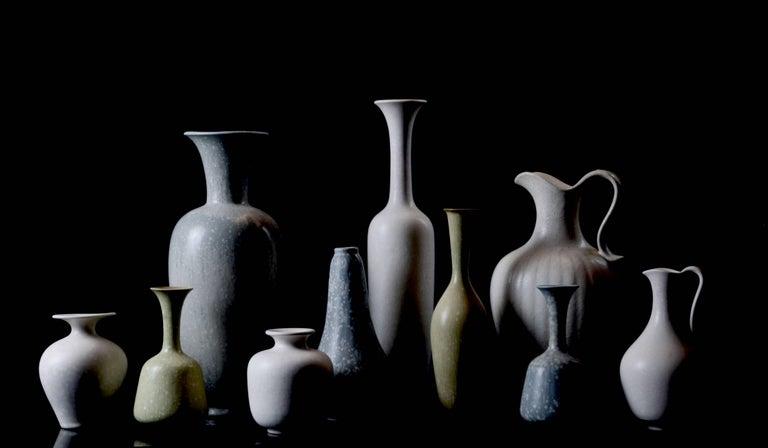 Scandinavian Modern Set of Ten Vases by Gunnar Nylund for Rörstrand, Sweden For Sale