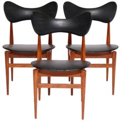Set of Three 1960s Butterfly Chairs by Inge & Luciano Rubino