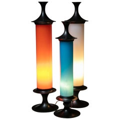 Set of Three 1960s Table Lamps